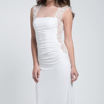 The White Collection by Mignon VM1077C Dress