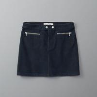 Womens Zipper A-Line Corduroy Skirt | Womens Bottoms | Abercrombie.com