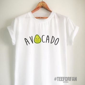 Vegan Shirt Vegan T Shirt Avocado Shirt Avocado T Shirt Vegan Merch for Women Girl Men Unisex Tumblr Vegetarian Top Tee