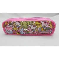 Imported Hello Kitty PINK Clear Pouch / Pencil Case