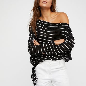 Free People We The Free Striped Love Lane Tee