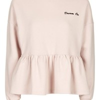 Dream On Peplum Sweatshirt by Tea & Cake - Clothing