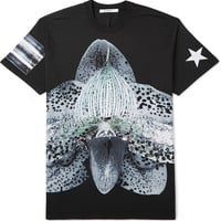 Givenchy - Columbian-Fit Orchid-Print Cotton T-Shirt | MR PORTER