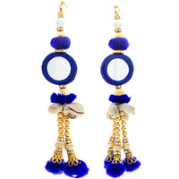 Blue Handmade Indian Earrings