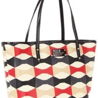 Kate Spade New York Abstract Signatur-Small Harmony  Tote