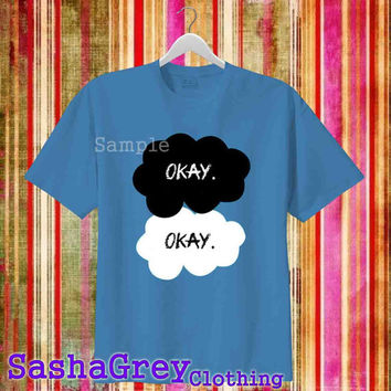 The Fault in our Stars john greeen Indigo Blue _ T-Shirt Men's Size S - 3XL Design By : sashagreystore