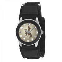 Wyoming Cowboys NCAA Kids Rookie Series watch (Black)