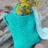 Knitted Bags/ Rope Bags/ Handmade Bags/ Chrochet Bags/ Tote/ Beach Bags/ Mint Bags/ Summer Bags/ Market Bags/ Bags ,,Comfort,,