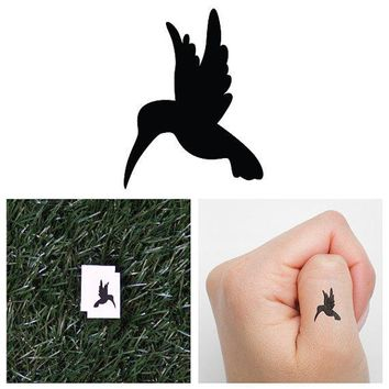 Hum   Temporary Tattoo (set Of 2)