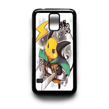 Raichu attack of titans Samsung Galaxy S3 S4 S5 Note 2 3 4 HTC One M7 M8 Case