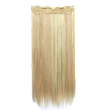 28inch 70cm 140g 5 Cards Hair Extension Wig      25H613