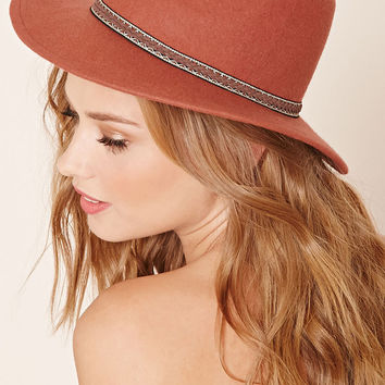 Felt Braided Fedora