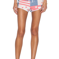 Wildfox Couture Star Spangled Shorts in Patriot Blue
