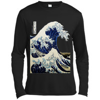 Kanagawa Japanese The great wave T shirt shirt