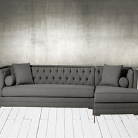 Custom Mid Century Modern Sectional Sofa