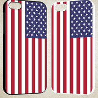 American Flag F0054 iPhone 4S 5S 5C 6 6Plus, iPod 4 5, LG G2 G3, Sony Z2 Case