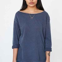 Truly Madly Deeply Jamie Striped Pullover Shirt - Urban Outfitters