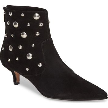 Topshop Ascot Studded Pointy Toe Bootie (Women)   Nordstrom