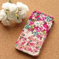 hand retro flower case for iphone