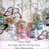 Fairy Dust bottle necklace  - Available in different colours