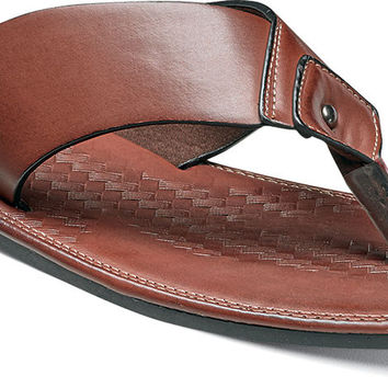 Seascape Thong Sandal by Stacy Adams