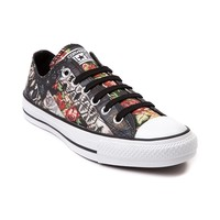 Womens Converse All Star Lo Roses Sneaker