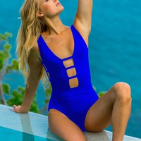 Sauvage Blue Ladder One Piece
