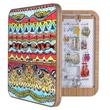 CayenaBlanca Tribal Print BlingBox