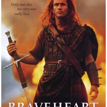 Braveheart 27x40 Movie Poster (1995)