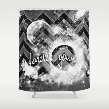 forever young Shower Curtain by Haroulita