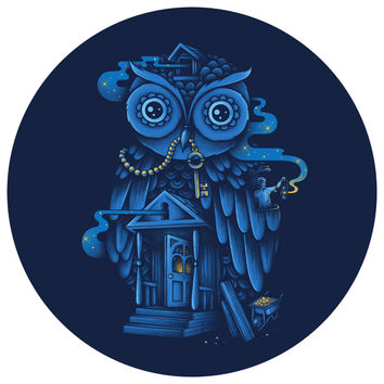 Enkel Dika's Guardian of the Night Circle Decal