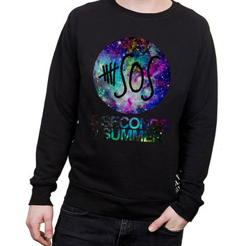 5 Seconds Of Summer  Galaxy Nebula - Design of Sweatshirt