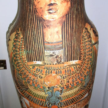 Vintage Inflatable Sarcophagus On The Wall Productions Inflatable Kitsch Home Decor