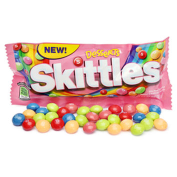 Desserts Skittles Candy Packs: 24-Piece Box