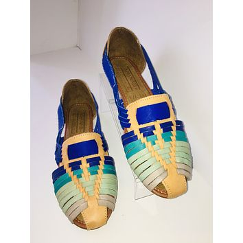 Azules Electra Leather Sandals