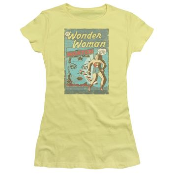 Dc - Ww Wanted Short Sleeve Junior Sheer