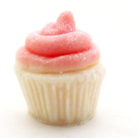 BULK 25 Mini Cupcake Soaps for Baby Showers, Bridal Showers, Wedding Favors, or Birthday Parties; Personalized Custom Labels, Soap Packaging