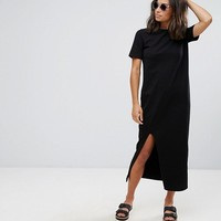 ASOS DESIGN Petite ultimate t-shirt maxi dress at asos.com