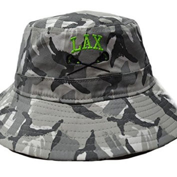 Lacrosse Army Camo Bucket Hat