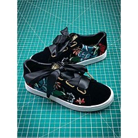 Puma Suede Classic Basket Embroidery Black Sneakers