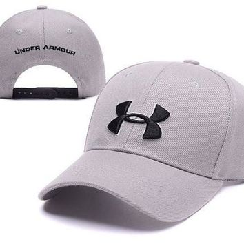 Trendy Beige Under Armour Embroidered Outdoor Baseball Cap