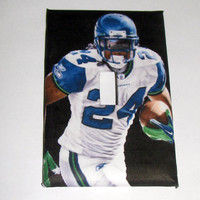 Light Switch Cover - Light Switch Plate Marshawn Lynch Seattle Seahawks Football