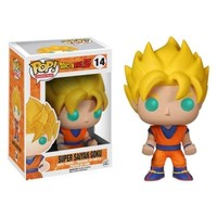 Dragon Ball Z Super Saiyan Goku Pop! Vinyl Figure : Forbidden Planet