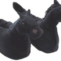 Amazon.com: Horse Black Animal Slippers for Women Small: Shoes