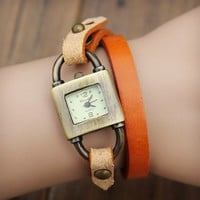 Buy Chain Me On Handmade Lock Wrap Watch on Shoply.