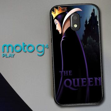 Disney Evil Queen Y0752 Motorola Moto G4 Play Case