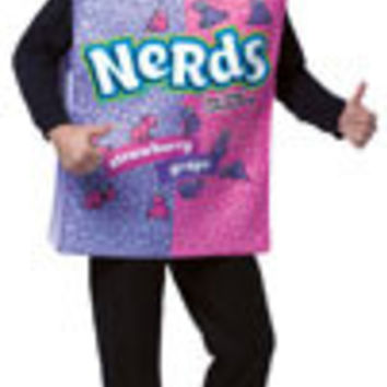 Adults Nerds Candy Box Costume