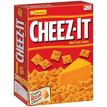 Sunshine Cheez-It Original Baked Snack Crackers, 12.4 Ounce
