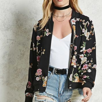 Contemporary Floral Jacket