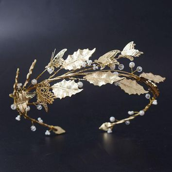 Golden Greek - Crown Headpiece